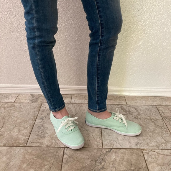 Keds Green Champion Sneakers Size 7